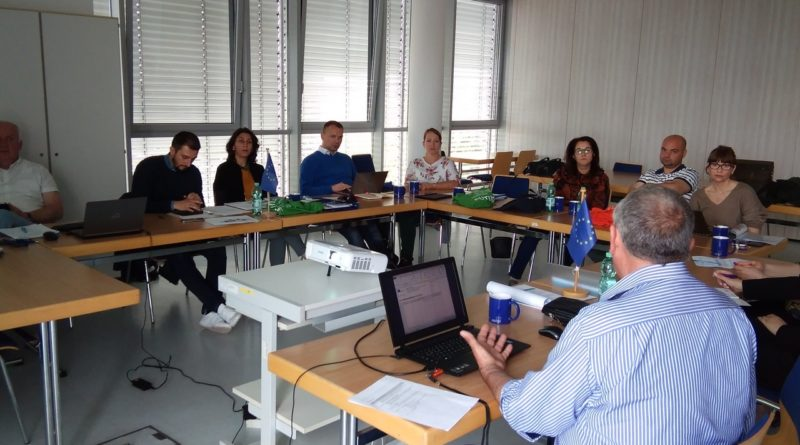 The second day of the meeting as part of the Erasmus + project on May 29, 2019. Frankfurt (Oder)