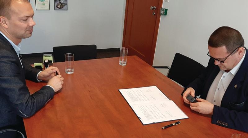 Podpisanie porozumienia o współpracy z Poznańskim Centrum Świadczeń i Centrum Inicjatyw Rodzinnych 11.07.2019r.