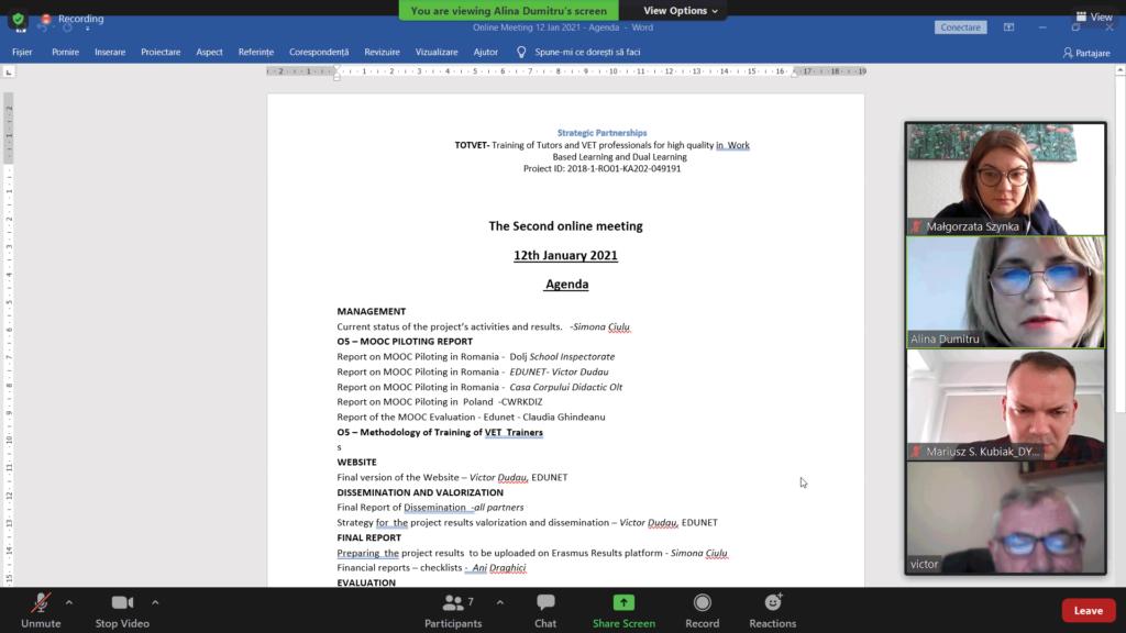 TOTVET-Ostatni-międzynarodowy-webinar-podsumowujący-projekt-styczeń-2021-rok